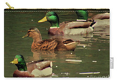 Ducks Race Carry-all Pouch