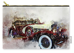 Duesenberg Watercolor Carry-all Pouch
