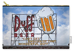 Duff Beer Sign Carry-all Pouch