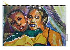 Duke And Messie - Family Portrait 01 - Sierra Leone Carry-all Pouch by Mudiama Kammoh