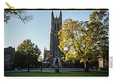 Duke Chapel At Sunset Carry-all Pouch