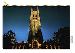 Duke Chapel Lit Up Carry-all Pouch