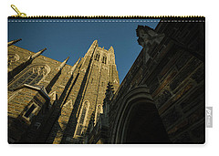 Duke Chapel Shadows And Golden Sunset Carry-all Pouch