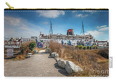 Carry-all Pouch featuring the photograph Duke Of Lancaster Graffiti by Adrian Evans