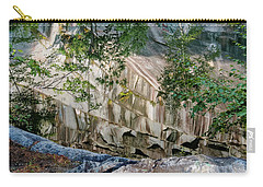 Carry-all Pouch featuring the photograph Dummerston Quarry by Tom Singleton