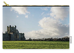 Dunbrody Abbey Carry-all Pouch by Martina Fagan