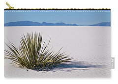 Carry-all Pouch featuring the photograph Dune Plant by Marie Leslie