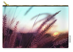 Carry-all Pouch featuring the photograph Dune Scape by Laura Fasulo