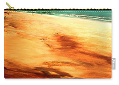 Carry-all Pouch featuring the painting Dune Shadows by Winsome Gunning