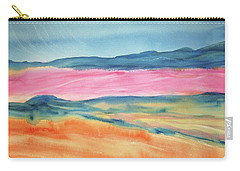 Carry-all Pouch featuring the painting Dunes by Ellen Levinson