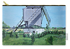 Dunkerque Windmill North Of France Carry-all Pouch by Francine Heykoop