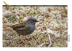 Dunnock Carry-all Pouch by Torbjorn Swenelius