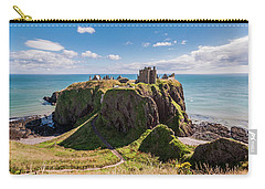 Dunnotar Castle Carry-all Pouch by Sergey Simanovsky