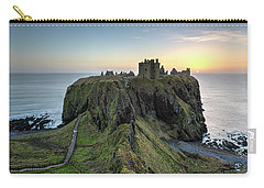 Dunnottar Castle At Sunrise Carry-all Pouch