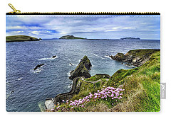 Dunquin Flowers  Carry-all Pouch