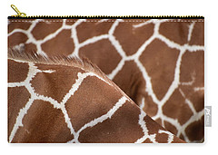 Duo Giraffe Pattern Carry-all Pouch