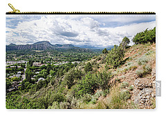 Carry-all Pouch featuring the photograph Durango No.1 by Margaret Pitcher