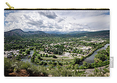 Carry-all Pouch featuring the photograph Durango No.2 by Margaret Pitcher