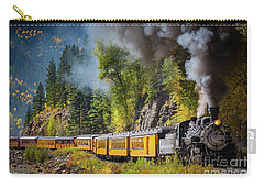 Durango-silverton Narrow Gauge Railroad Carry-all Pouch by Inge Johnsson
