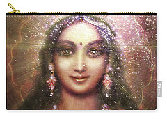 Durga In The Sri Yantra 3 Carry-all Pouch