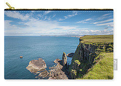 Carry-all Pouch featuring the photograph Handa Island - Sutherland by Pat Speirs
