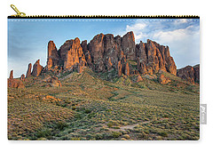 Dusk At Lost Dutchman Carry-all Pouch