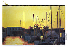 Dusk At The Marina Carry-all Pouch