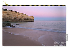 Dusk In Albandeira Beach Carry-all Pouch by Angelo DeVal