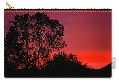 Carry-all Pouch featuring the photograph Dusk by KG Thienemann
