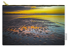 Dusk On Cayo Coco Carry-all Pouch by Valerie Rosen