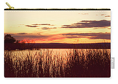 dusk on Lake Superior Carry-all Pouch
