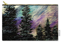 Dusk On Purple Mountain Carry-all Pouch