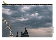 Carry-all Pouch featuring the photograph Dusk Over Budapest by Alex Lapidus