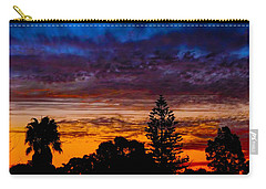 Carry-all Pouch featuring the photograph Dusky by Mark Blauhoefer