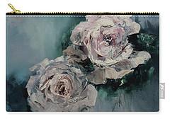 Dusky Roses Carry-all Pouch