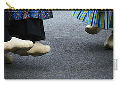 Dutch Dancers In Holland Carry-all Pouch by Michelle Calkins