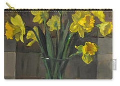 Dutch Master Narcissus In An Hourglass Vase Carry-all Pouch
