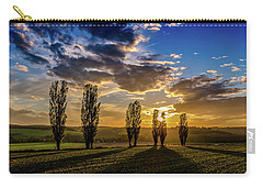 Dutch Moutains At Sunset Carry-all Pouch