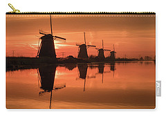 Dutch Sillhouette Carry-all Pouch