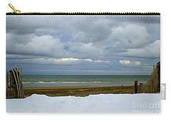 Duxbury Beach 3rd Crossover Carry-all Pouch by Amazing Jules