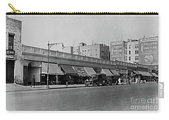 Carry-all Pouch featuring the photograph Dyckman Street, 1927 by Cole Thompson