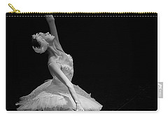 Dying Swan II. Carry-all Pouch by Clare Bambers