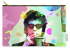 Dylan In Studio Carry-all Pouch by David Lloyd Glover