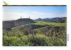 Carry-all Pouch featuring the photograph Dynamic California Landscape by Matt Harang