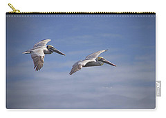 Carry-all Pouch featuring the photograph Dynamic Duo by Phil Mancuso