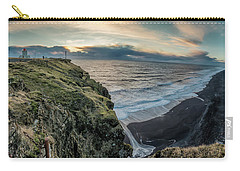 Dyrholaey Light House Carry-all Pouch by Allen Biedrzycki