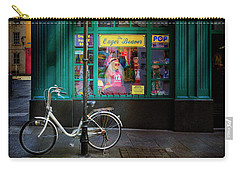 Carry-all Pouch featuring the photograph Eager Beaver Bicycle by Craig J Satterlee
