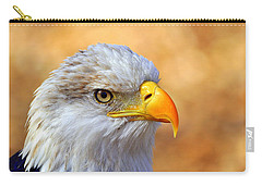 Carry-all Pouch featuring the photograph Eagle 7 by Marty Koch