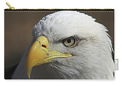 Carry-all Pouch featuring the photograph Eagle Eye by Steve Stuller