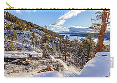 Carry-all Pouch featuring the photograph Eagle Falls by Charles Garcia